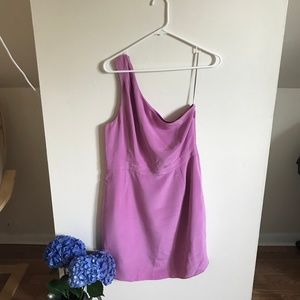 Lilac One Shoulder Dress